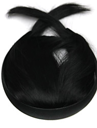 Wig Black 10CM High-Temperature Wire Sideburns Qi Liu Colour 4010