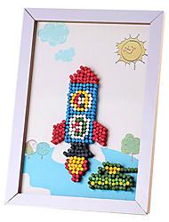 раннего детства образовательные игрушки поделки волшебные бобы метров цвет оптом 5000