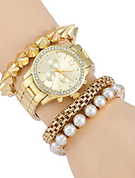 Woman's    Fashion Luxury Alloy Diamond Watches Cool Watches Unique Watches Strap Watch