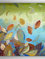Pintados à mão Vida Imóvel Modern,1 Painel Hang-painted pintura a óleo