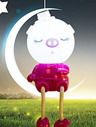 Creative Pink Piggy Shape Light  Night Light