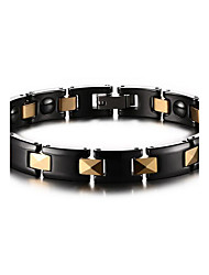 Unisex Jewelry Health Care Black Ceramic Magnetic Therapy Bracelet Fashion  Jewelry Christmas Gifts