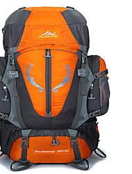 80 L Rucksack Camping & Wandern / Klettern / Reisen Outdoor Wasserdicht / Wärmeisolierung / Skifest / tragbar / MultifunktionsGrün / Rot