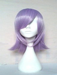 Top Quality Light  Purple  Synthetic Wig Long Straight  Hair Wigs  Suit for Party and Cosplay