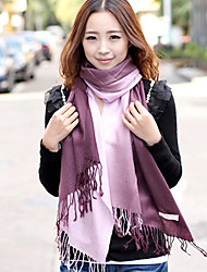 Ms Cashmere Scarves Stitching Gradient Color Scarf Shawl