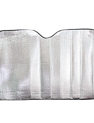 220 * 70 Aluminiumautofrontscheibe Sonnenschutz Sonnenschutz