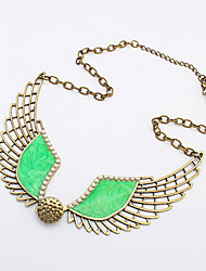 Necklace Pendant Necklaces Jewelry Alloy Party / Daily / Casual Green 1pc Gift