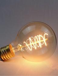 e27 AC220-240V 40w Seide Kohlefaden-Glühlampen g80 um Perle