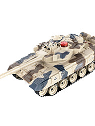 contra los tanques padre-hijo en contra del control remoto por infrarrojos modelo torreta desfile tanque de juguete de niño 3