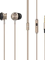 UiiSii GT500 In-Ear Earbuds Earphones with Stereo Sound Noise-isolating Mic Control for Smartphone