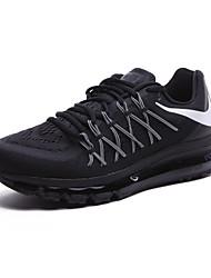 Sapatos Corrida Masculino Preto / Preto e Vermelho / Preto e Branco Tecido