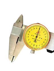 exatidão 0-200 mm ferramenta de medição do nível de pinças instrumento 0,02 marcação