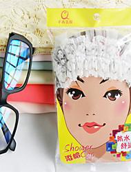 Thick High Quality Beautiful Printed Cotton EVA Fabric Shower Caps