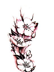 Body Art Waterproof Temporary Tattoos Beautiful Rose Tattoo Sticker Wholesale