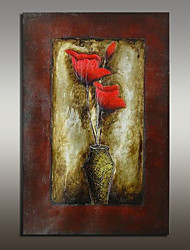 Large Size Canvas Oil Painting Hand Painted Modern Flower Picture Wall Art With Stretched Frame Ready To Hang 90x140cm