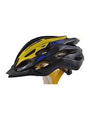 Men's Sports Bike helmet 24 Vents Cycling Cycling / Mountain Cycling / Road Cycling  PVC