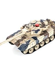 mando a distancia contra los tanques, el desfile militar de juguete modelo de tanque chico - Rusia t90 sola