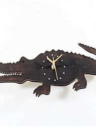 Lovely Big Crocodile Wall Clock