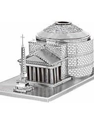 3D Puzzles / Metal Puzzles For Gift  Building Blocks Model & Building Toy Famous buildings Metal Above 14 Silver Toys