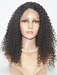 Synthetic Wigs Kinky Curl Lace Front Wig For Women
