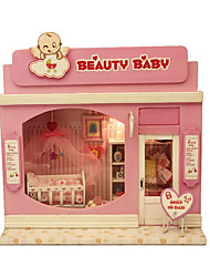 Pretty Baby Diy Cabin Illuminated Hand Assembled Model Chi Fun House Europe Shop Series