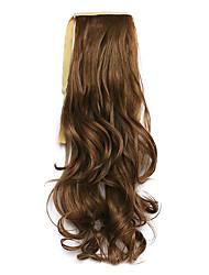 comprimento 50 centímetros marrom peruca de cabelo tipo de cinto cavalinha melange encaracolado sintético (cor 12/24)