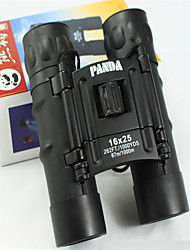 Panda 16 25mm mm Jumelles bak4 Haute Définition / Portable 87M/1000M 5m Mise au point Centrale Multi-traitéesUtilisation Générale /