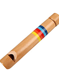 Wood Yellow Child Wooden flutes for Children All Musical Instruments Toy