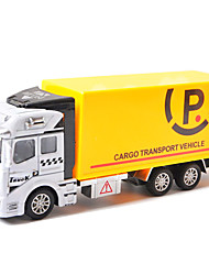 Dibang - Children's toy car back of the garbage truck 1:48 alloy car model toy sprinkler garbage truck (6PCS)