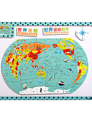 детские мультфильм головоломки магнитные деревянные головоломки игрушки туба-карта Китая