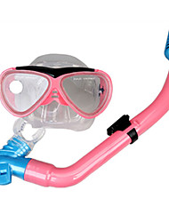 Diving Masks Kids Blue / Fuchsia silicone