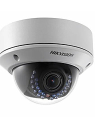 hikvision® ds-2cd2735f-es reemplazar ds-2cd2732f-cámara domo IP es varifocal de 3.0 MP con ranura para tarjeta 2.7-12mm lente / poe / sd