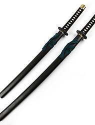 Arma / Espada Inspirado por Fantasias Toshizo Hijikat Anime Acessórios de Cosplay Espada Preto Madeira Masculino
