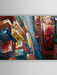 Hand Painted Oil Painting Landscape the Architecture of the City with Stretched Frame 7 Wall Arts®