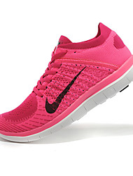 Nike Free 4.0 RN Flyknit Round Toe / Sneakers / Running Shoes / Casual Shoes Women's Wearproof Purple / PeachRunning/Jogging / Leisure