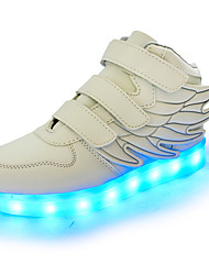 LED Light Up Shoes,Boy's Sneakers Girl Charging 7 Colour child  Wing Round Toe Synthetic Party & Evening  Casual HeelSparkling