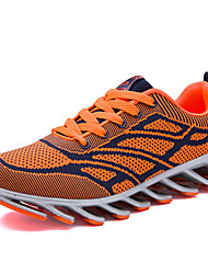 Черный Красный Оранжевый-Мужской-Повседневный-Полиуретан-На плоской подошве-Удобная обувь-Спортивная обувь