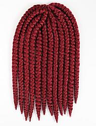 Havana mamabo Twist Braids Hair braid Hair Extensions 12 Kanekalon 2 Strand 80 gram Hair Braids