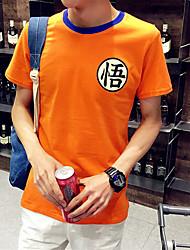 Chinese Words Wukong T-Shirt Summer 3D Printed King T-shirt Casual Cotton Designer O Neck T Shirts