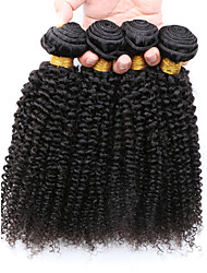 Slove Hair Products Mongolian Kinky Curly Virgin Hair 100% Unprocessed Human Hair Extension Good Quality Tangle Free