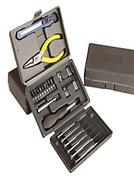 Plastic box hardware tool(23 piece)