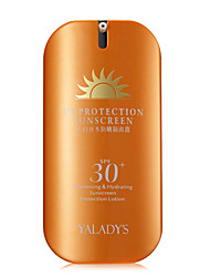 YALADY'S UV Aqua Rich Watery Essence Sunscreen Face Body SPF30+ Skin Care-45G