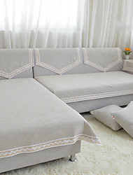 Solid Color Sofa Towel Slip-resistant Fabric Sofa Cushion