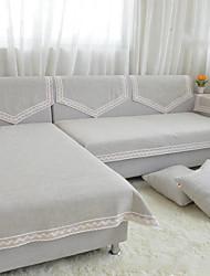 sofá cor sólida toalha antiderrapante tecido de sofá almofada