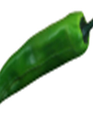 Simulation Of Green Pepper