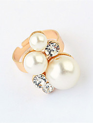 Korean Version Of The Simple Wild Pearl Ring