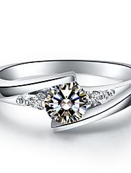 Ringe Modisch / Vintage Hochzeit Schmuck Sterling Silber Damen Statementringe 1 Stück
