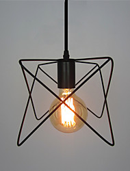 Retro Contracted Wrought Iron Birdcage Pendant Lights Restaurant,Cafe ,Game Room,Garage light Fixture