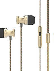 UiiSii US80 In-Ear Earbuds Earphones with Stereo Sound Noise-isolating Mic Control for Smartphone