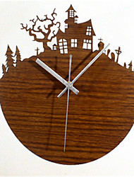 Retro European Garden Wall Clock